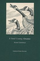Special Edition of A Sand County Almanac printed on paper from Leopold Pines