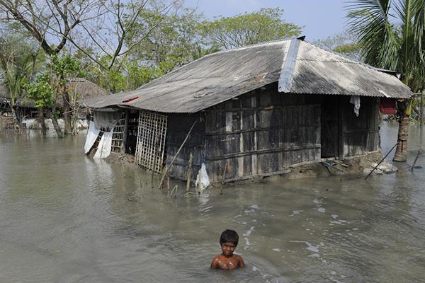 A Very Big Bath a Single Landscape Baraboo to Bangladesh