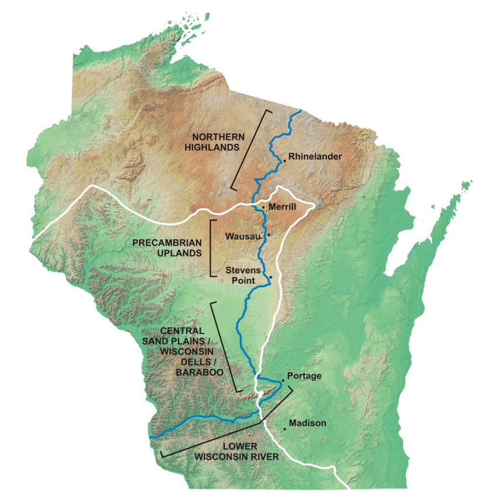 Geologic History of the Wisconsin River